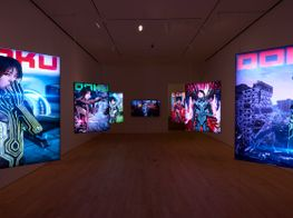 "Lu Yang<br><em>Doku: Digital Alaya</em><br><span class=""oc-gallery"">Jane Lombard Gallery</span>"