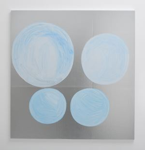 circle by Anju Michele contemporary artwork