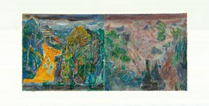 To Bonnard, Set One 5 by Qi Lan contemporary artwork