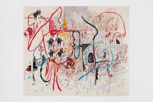 1.11.17. by Elliott Hundley contemporary artwork