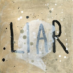 Pants on Fire 33 by Squeak Carnwath contemporary artwork