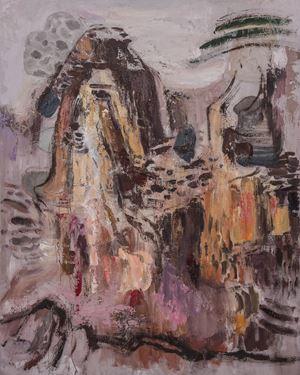 梦觉山2号   Dream Sense Mountain No.2 by Ji Lei contemporary artwork
