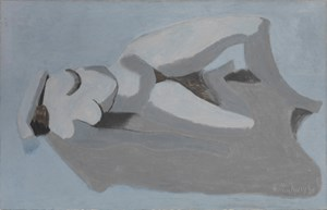 Blue Gray Nude by Milton Avery contemporary artwork