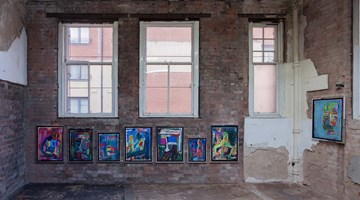 Contemporary art exhibition, Spencer Sweeney, The Pastels at The Modern Institute, Aird's Lane, Glasgow