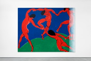 Untitled (Dance) by Wilhelm Sasnal contemporary artwork