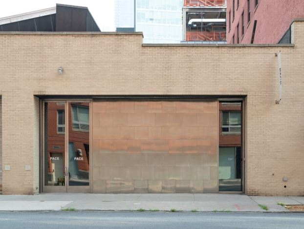 Pace Gallery,537 West 24th Street, New York. Courtesy Pace Gallery.