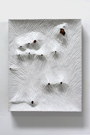 Untitled (white wood I) by Yang Xinguang contemporary artwork