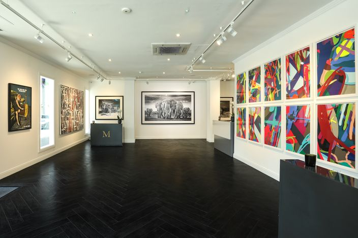 Exhibition view: Group Exhibition,Spring Contemporary, Maddox Gallery, Westbourne Street (11 April–20 May 2021). Courtesy Maddox Gallery.