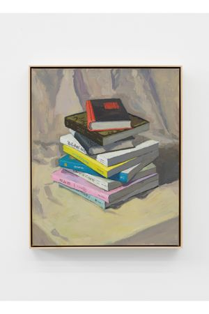 A Stack of Books by Ge Yulu contemporary artwork painting, sculpture