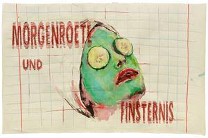 Finsternis by Birgit Brenner contemporary artwork