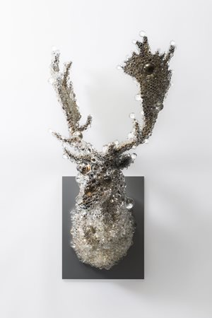 PixCell-Fallow Deer by Kohei Nawa contemporary artwork