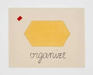 Untitled (organise) by Luca Frei contemporary artwork