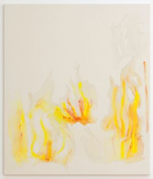 Ohne Titel (Wasser/Flammen) by Helene Appel contemporary artwork