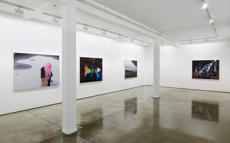 Hannah Starkey, Solo Exhibition, 2015-2016, Exhibition view at Maureen Paley, London. Courtesy the Artist and Maureen Paley. © Hannah Starkey.