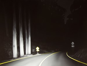 Bogong Road by Tony Lloyd contemporary artwork
