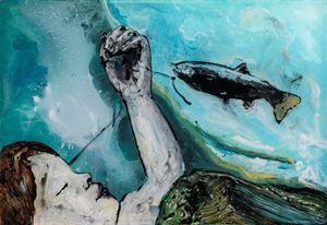 Für einen Augenblick by Wolf Hamm contemporary artwork