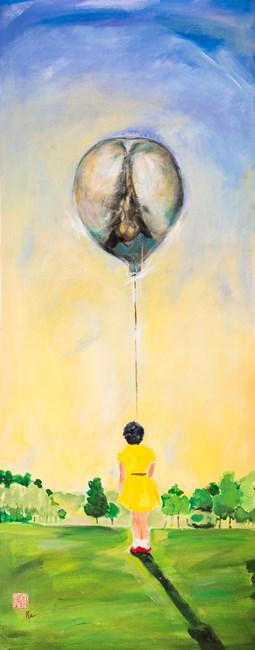 My Balloon by Fu-sheng Ku contemporary artwork
