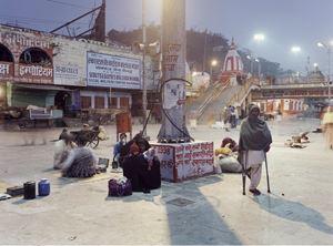 Holy Haridwar by Peter Bialobrzeski contemporary artwork
