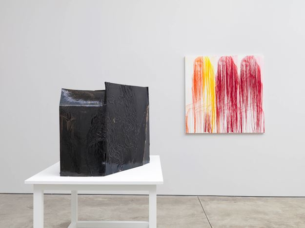 Exhibition view: Ghada Amer, Cheim & Read, New York (5 April–12 May 2018). Courtesy Cheim & Read.