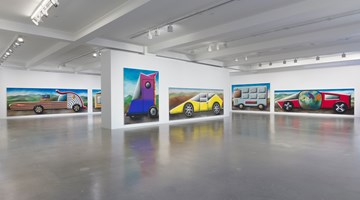 Contemporary art exhibition, Andreas Schulze, Traffic Jam at Sprüth Magers, Los Angeles