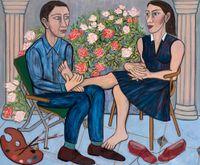 Secret Garden by Eileen Cooper contemporary artwork painting