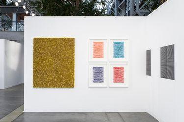 Anne Mosseri-Marlio Galerie, Code Art Fair, Copenhagen (31 August–2 September 2018). CourtesyAnne Mosseri-Marlio Galerie. Photo:Kristian Touborg, Copenhagen.