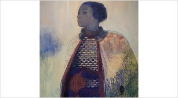 Contemporary art exhibition, Pamela Phatsimo Sunstrum, Battlecry at Goodman Gallery, London