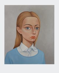 Nancy Clark, 1962 by Peter Stichbury contemporary artwork painting