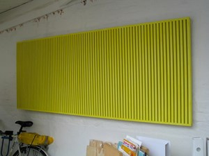 Yellow Grating by Adam Barker-Mill contemporary artwork