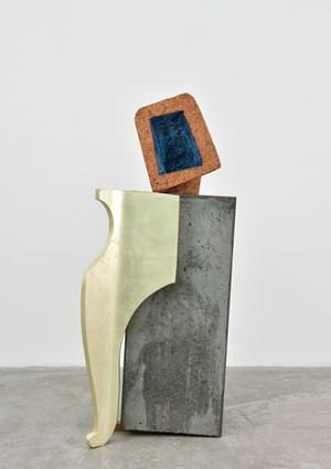The Golden Leg by Arlene Shechet contemporary artwork