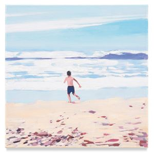 Boy Beach by Isca Greenfield-Sanders contemporary artwork