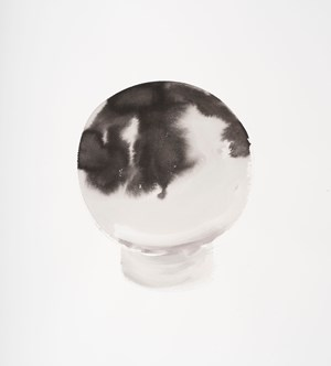 Crystal Ball Work on Paper #2 by Michelle Charles contemporary artwork