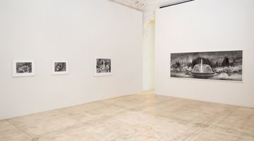 Contemporary art exhibition, Hans Op de Beeck, Works on Paper at Galerie Krinzinger, Vienna