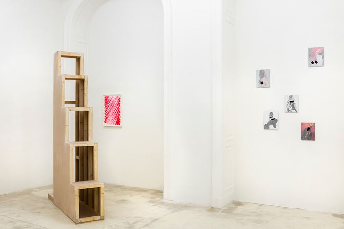 Exhibition view: William Mackrell, Here is where we meet, Galerie Krinzinger (2 May–15 June 2019). Courtesy Galerie Krinzinger.