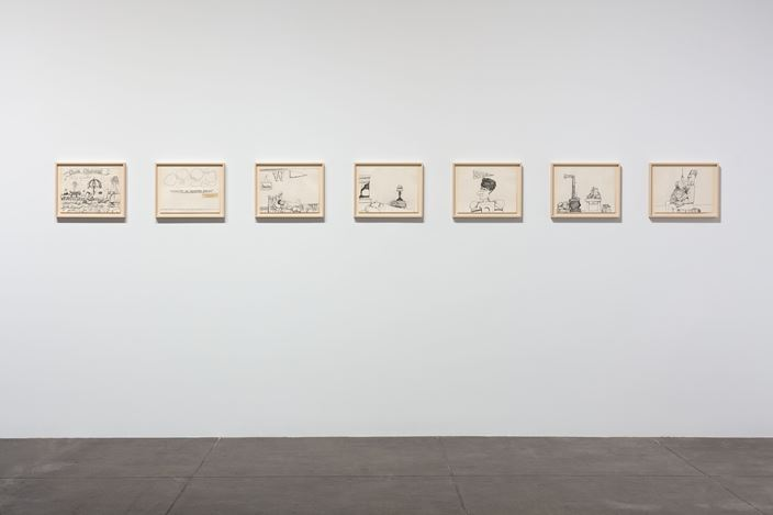 Exhibition view: Philip Guston, Resilience: Philip Guston in 1971, Hauser & Wirth, Los Angeles (14 September 2019–5 January 2020).© The Estate of Philip Guston.Courtesy the Estate and Hauser & Wirth.Photo: Fredrik Nilsen.