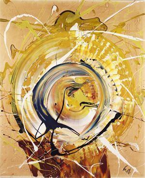 Tenhorin by Kazuo Shiraga contemporary artwork