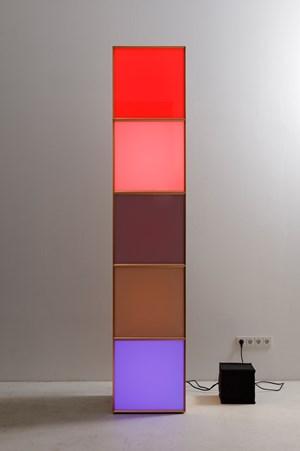 Copper Stack 5 by Angela Bulloch contemporary artwork