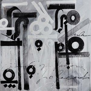 Sabrosura Negra by Retna contemporary artwork