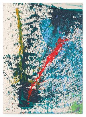 Magi M by Shozo Shimamoto contemporary artwork