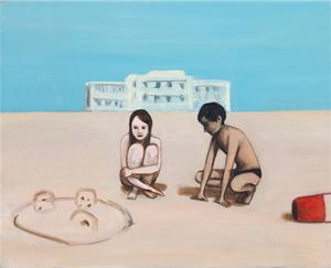 Beach by Matthew Krishanu contemporary artwork