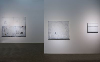 Exhibition view: Wang Jun, Flashback (25 June–28 August 2016). Courtesy A Thousand Plateaus Art Space.