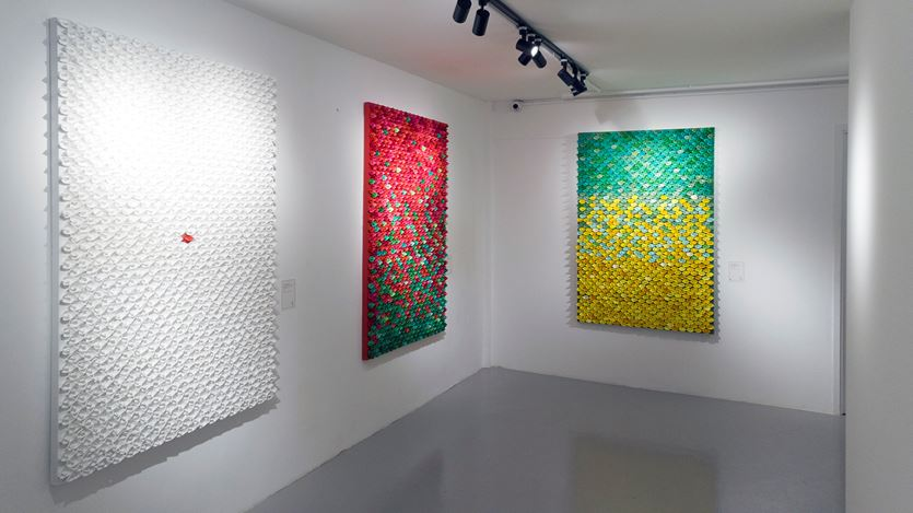 Exhibition view: Ng Lung Wai, All the Best, A2Z Art Gallery, Hong Kong (21 February–25 March 2019). Courtesy A2Z Art Art Gallery.