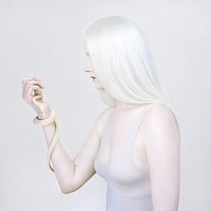 Lauren and Python by Petrina Hicks contemporary artwork