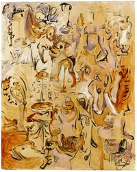 Funny Landscape by George Condo contemporary artwork painting