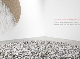 Richard Long review – modern primitive sees the cosmos reflected in mud