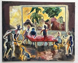 Meeting by Pierre Knop contemporary artwork