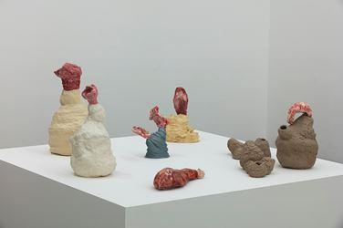 Exhibition view: Brígida Baltar, A Carne do Mar, Galeria Nara Roesler, São Paulo (26 February–24 March 2018). Courtesy the artist and Galeria Nara Roesler, São Paulo. Photo: Everton Ballartin.