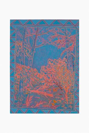 hued dreamy beaming by John McAllister contemporary artwork