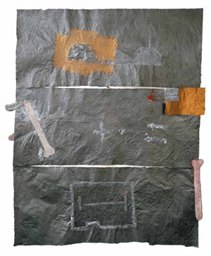 The last houses of the man by Antonio Dias contemporary artwork