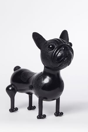 French Bull-dog by Jean-Marie Fiori contemporary artwork